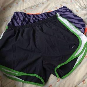 Nike DRI FIT shorts bundle